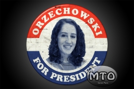 Your Face on an Antique Presidential Button