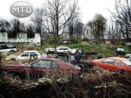 Abandoned Junk Yard w/ Antique Cars