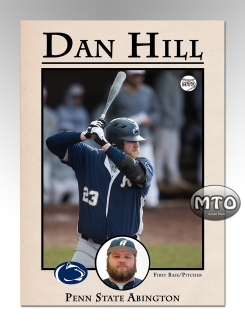 Custom Designed Baseball Card